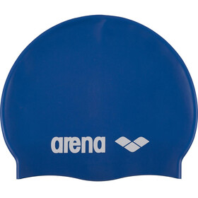 arena Classic Silicone Swimming Cap Juniors skyblue-white